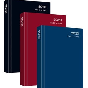 2020 A6 Page A Day Diary