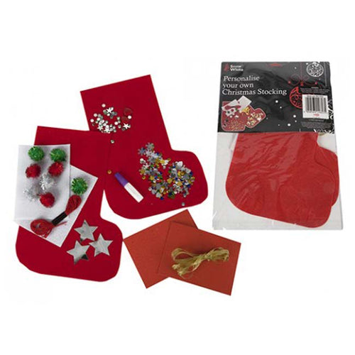 Personalise Your Own Christmas Stocking