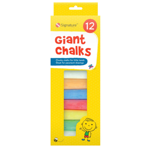 Signature Giant Chalks 12 Pack