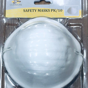 10pc safety mask set