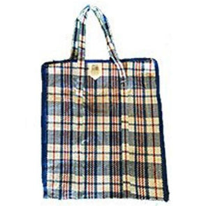 Small Check Shopping Bag