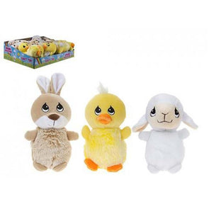 3 Assorted 14cm Spring Baby Cuddly Toy