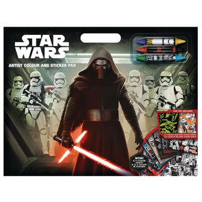 Star Wars Colouring & Sticker Pad