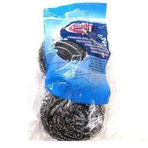 2pk Stainless Steel scourers