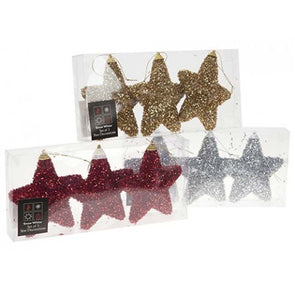 Fleck Covered Star Hanging Decoration