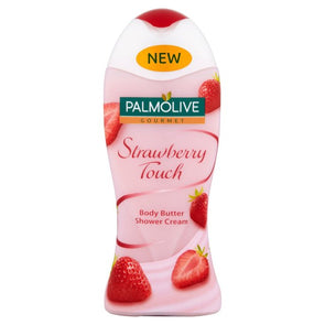 Palmolive Shower Cream Gel Gourmet Body Butter Strawberry Touch 250ml