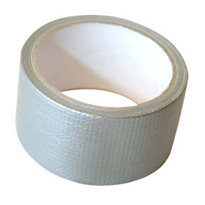 Silver Supertough Cloth Tape Sleeve of 6 rolls