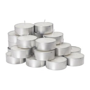 White Tea Light Candles 20 Pack