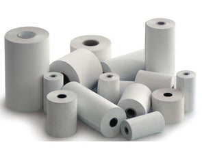 Single ply Action Till Rolls 57 x 55 - Box of 20 rolls