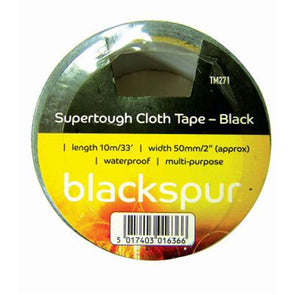 Black Supertough Cloth Tape