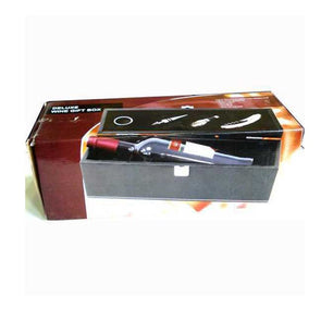 PU Leather Wine Bottle Box & Accessories