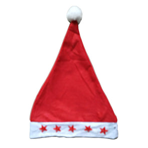 Adult's Flashing Santa Hat