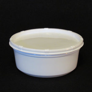 Live Bait Cups with Side Vented Lids,  White Plastic Bait Cup, White Lid,  8 ounce