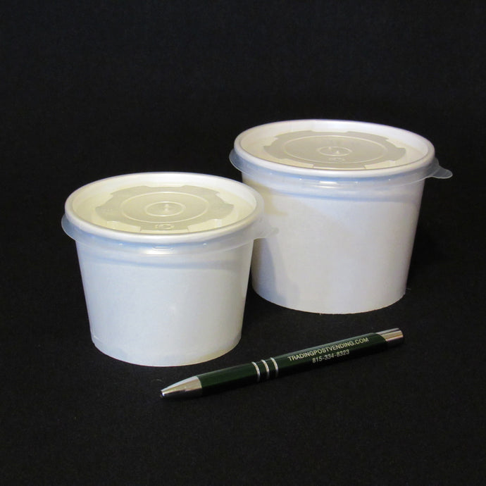 Minnow-Leech Cups and Lids