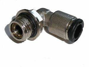 Parker Pneumatic Elbow Threaded-to-Tube Adapter - C64PB8-1/4 - Parker Store Nigeria