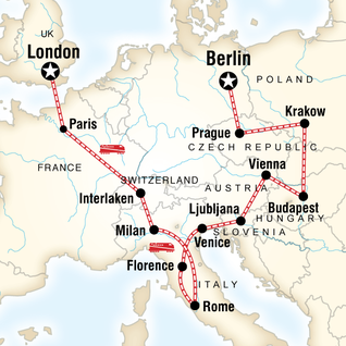 London to Berlin