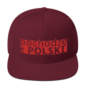 "Snapback Hat ""I'm from Poland"" by LiiWE"