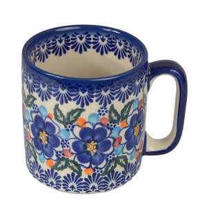 Boleslawiec Polish Pottery Hand Painted Ceramic Mug 400 ml