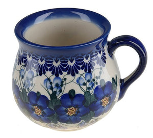 Boleslawiec Polish Pottery Hand Painted Ceramic Mug 500ml