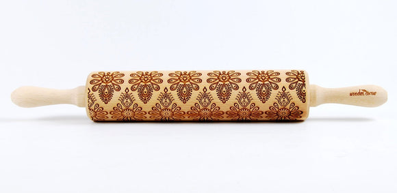 Polish folk pattern - Parzenica Embossing Rolling pin