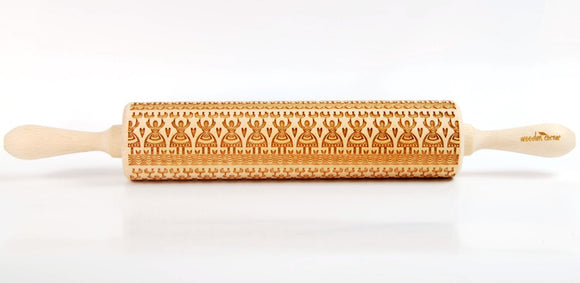 Polish folk pattern - Leluja II Embossing Rolling pin