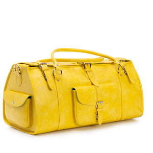 Elgin yellow designer travel bag