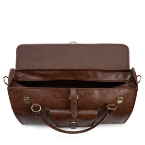 brompton leather travel bag