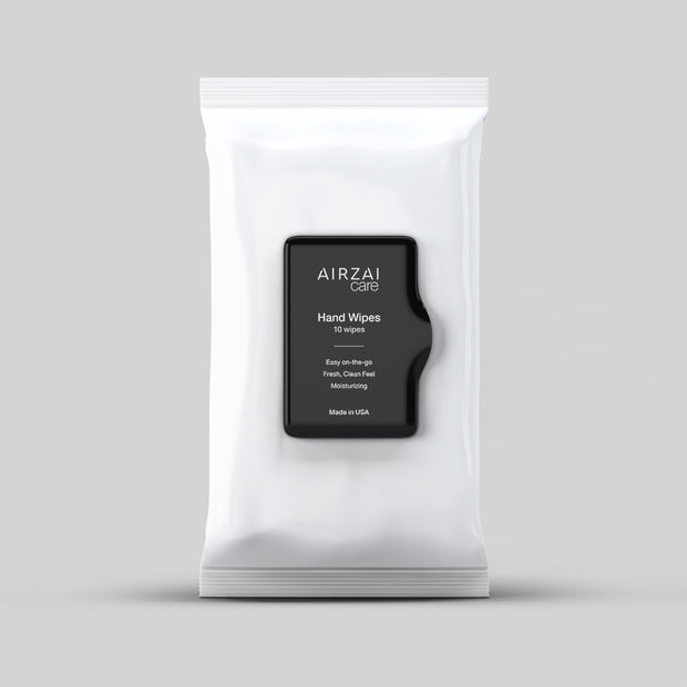 AIRZAI Care - Natural Hand Disinfectant Wipes