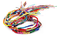 50Pcs Jewelry Lot Braid Strands Friendship Cords Handmade Bracelets