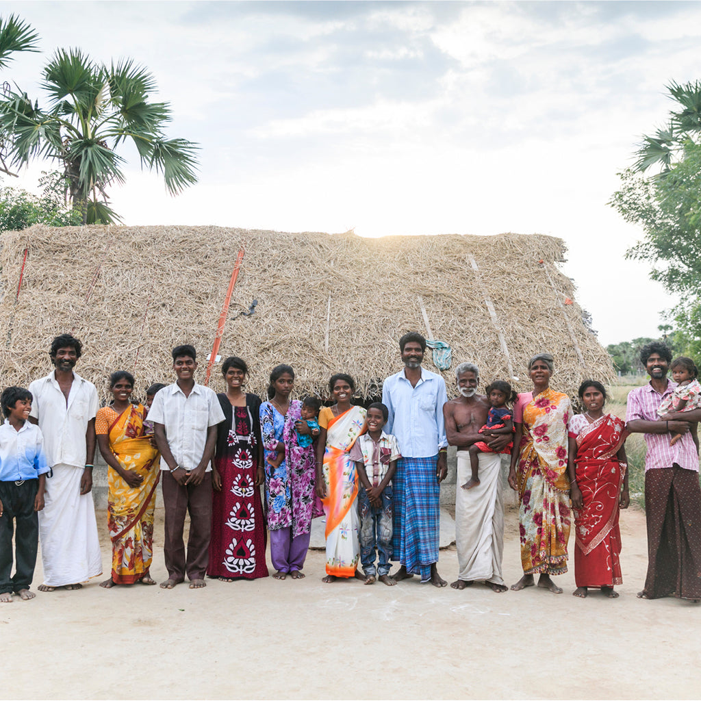 A Thatched Home for Families freed from slavery