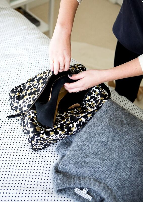 Hudson+Bleecker | How to Pack Your Shoe Bag