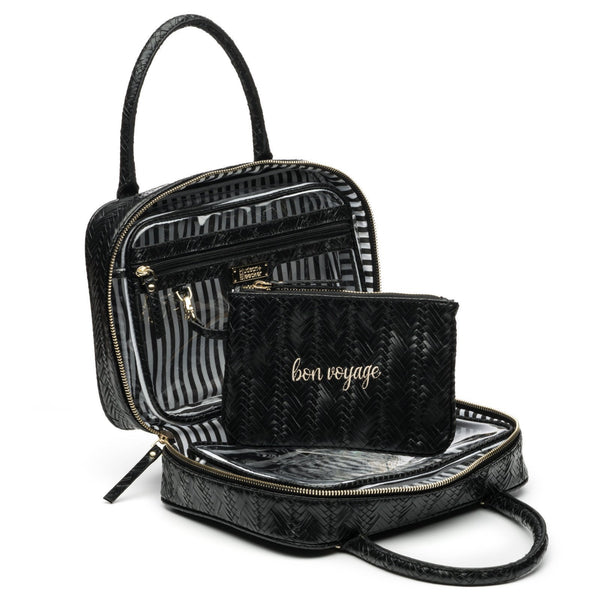 HEMATITE VOYAGER TOILETRY BAG