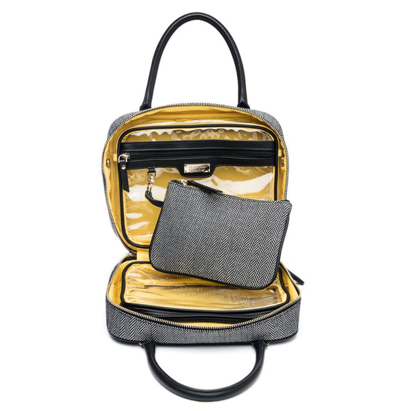 JE T'AIME (BLACK) VOYAGER TOILETRY BAG