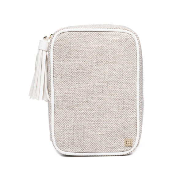 JE T'AIME (WHITE) AVION COSMETIC CASE