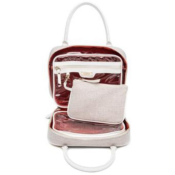 JE T'AIME (WHITE) VOYAGER TOILETRY BAG