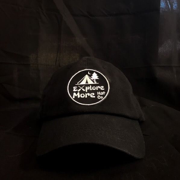 The Traveler- Black - Explore More Hat Co