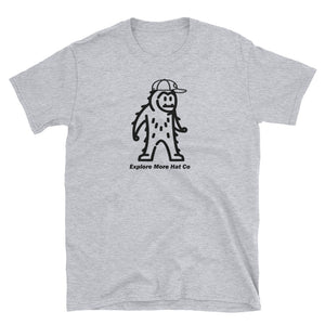 The Big Foot T Shirt - Explore More Hat Co