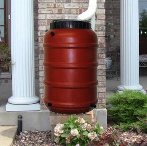 Upcycled Rain Barrel-a-Thon