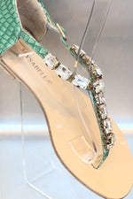 Lezzard Sandals Mysabella Green