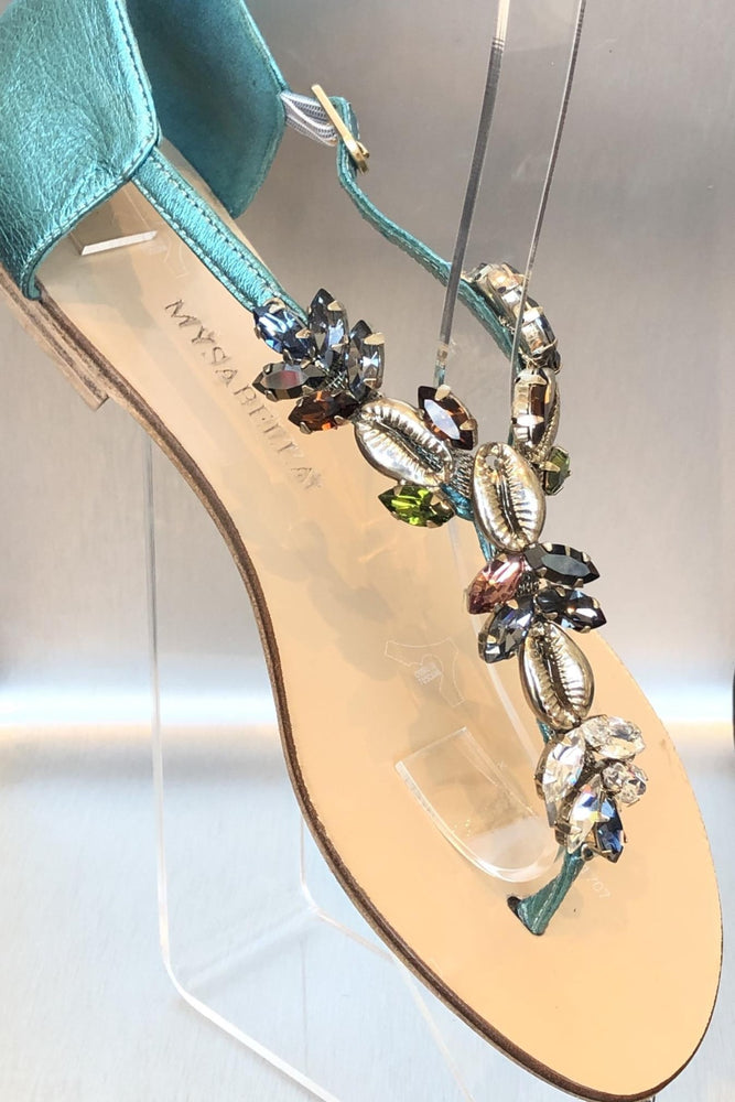 Turquoise Star Sandals Mysabella Turquoise