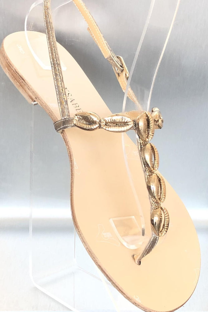 Shelly Mysabella Gold sandals