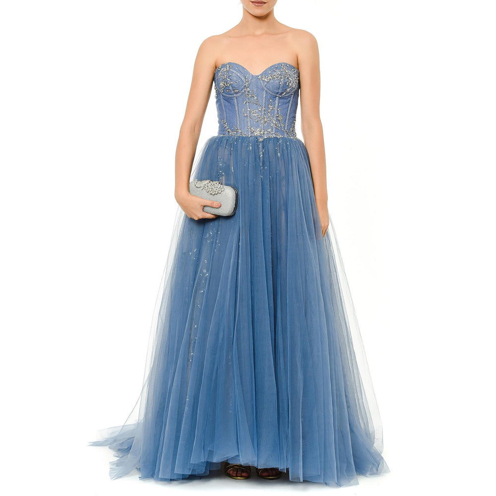 Cindrella Gown Mysabella Blue