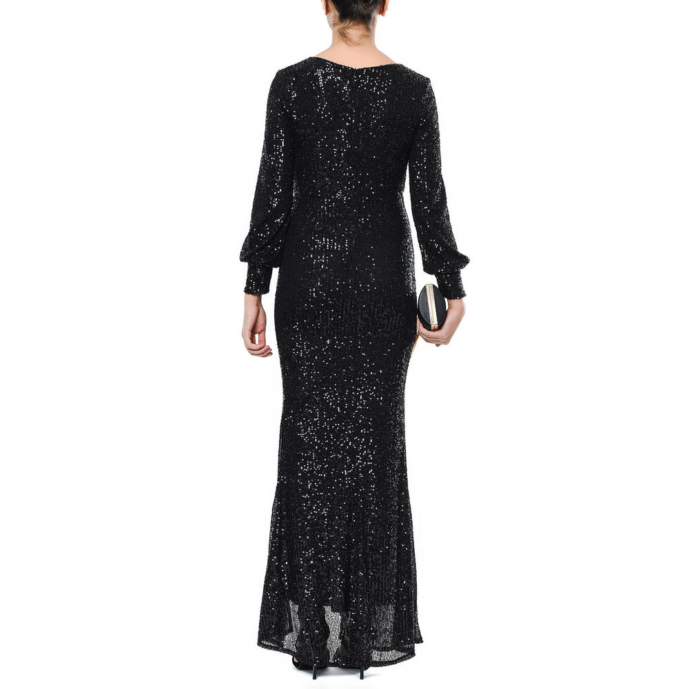 Black Mysabella Ruf dress by night