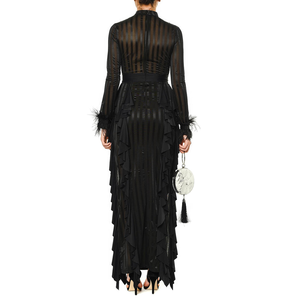 Samantha Mysabella black evening dress