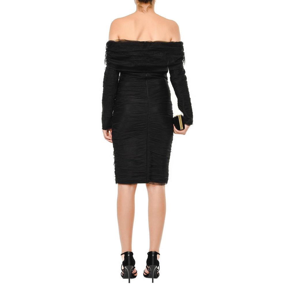 Victoria Mysabella short black dress