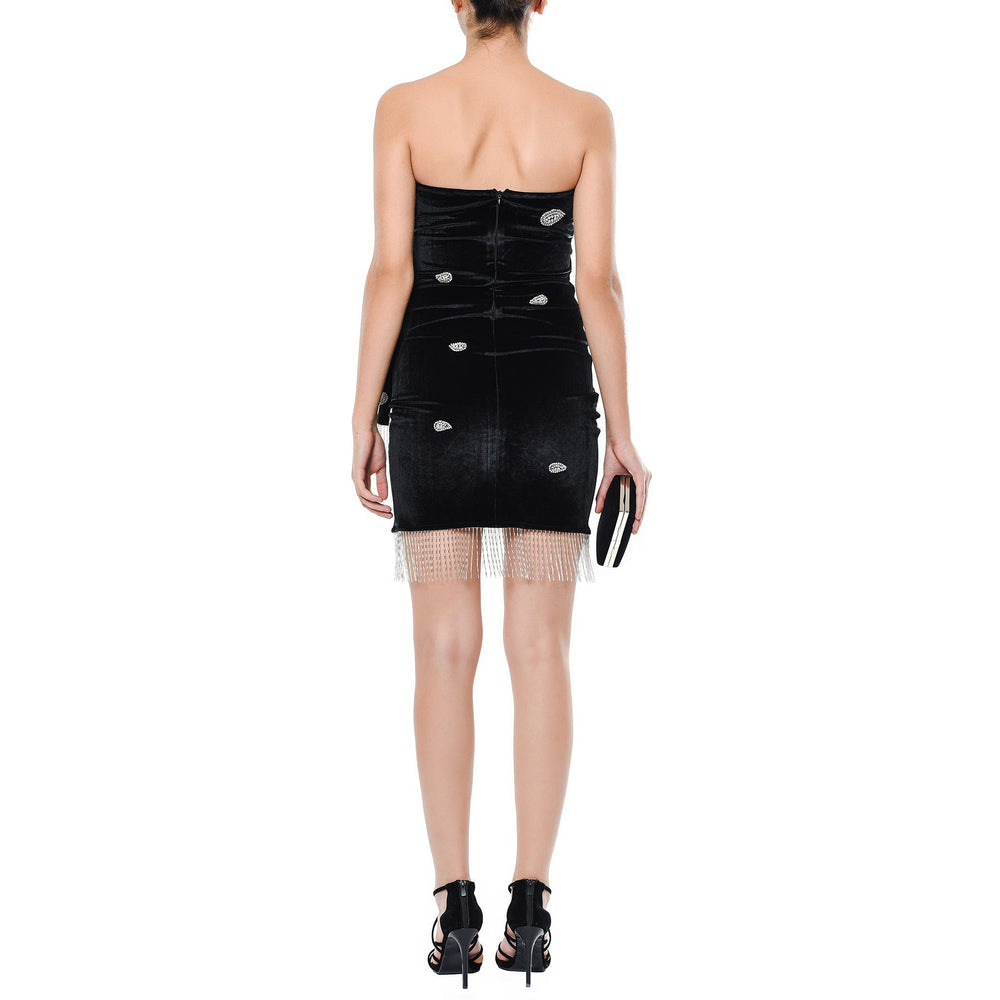 Chiara Mysabella Black short dress