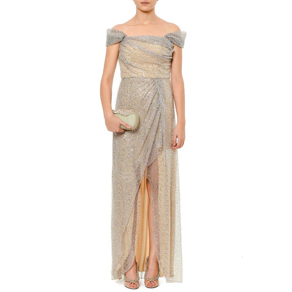 Romantica night Mysabella beige dress