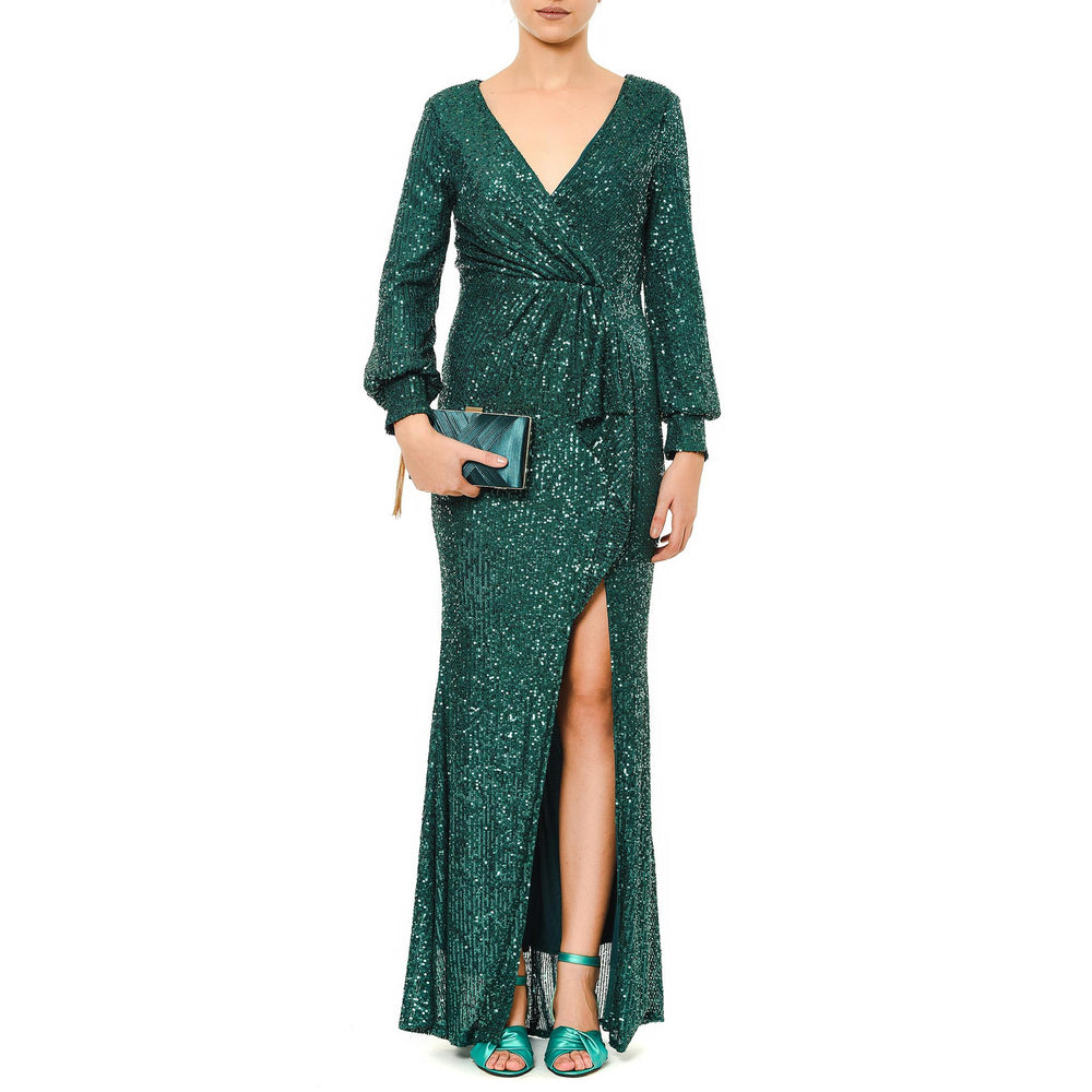 Soyley Ruffle Night Dress Mysabella Green