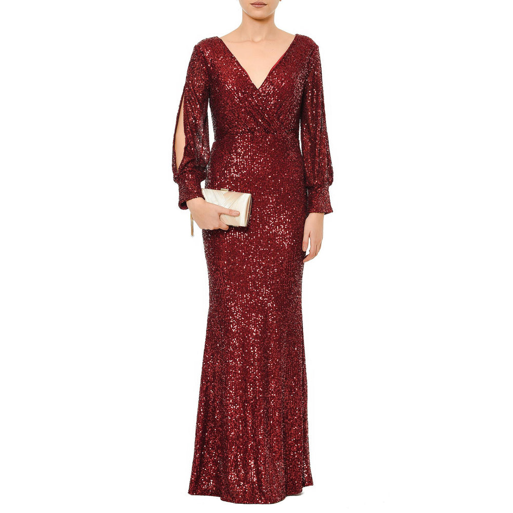 Soyley Night Dress Mysabella Claret Red
