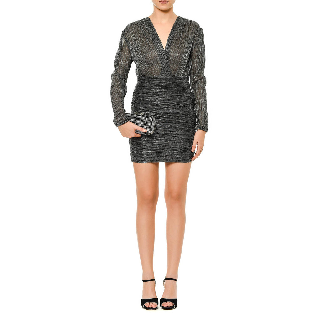 Miranda anthracite mysabella short dress